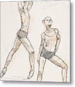 Dance Studies Metal Print