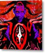 Dark Obamatar Metal Print