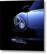 Dark Porsche Metal Print