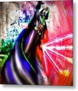 Darth Vader Sw Metal Print