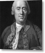 David Hume, Scottish Philosopher Metal Print by Middle Temple Library