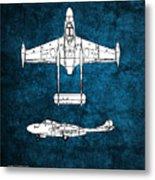 de Havilland Venom Metal Print