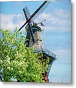 De Zwaan Windmill Metal Print