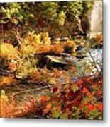 Dead River Falls  Marquette Michigan Metal Print