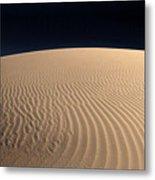 Death Valley's Sand Dunes Metal Print