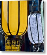 Decorative Lanterns Metal Print