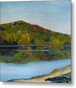 Deer Lake Metal Print