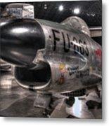 Dennis The Menace, North American, F-86d Sabre Metal Print