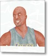 Derek Fisher Metal Print