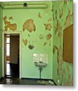 Derelict Hospital Room Metal Print