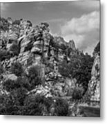 Desert Mountain Drive Metal Print