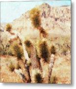 Desert Yucca Metal Print