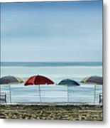 Deserted Beach. Metal Print