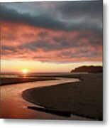 Devils Kitchen Sunset Metal Print