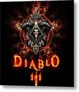 Diablo IIi Metal Print