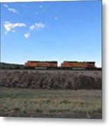Diesel Train Engines Metal Print