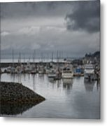Discovery Harbour Metal Print