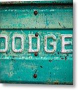 Dodge Metal Print