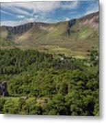 Dolbadarn Castle Metal Print by Adrian Evans