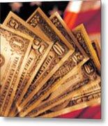 Dollar Metal Print