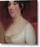 Dolley Madison Metal Print by Photo Researchers