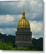 Dome Of Gold Metal Print