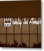 Don King Only In America Metal Print