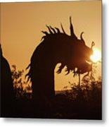 Dragon At Dawn Metal Print