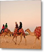 Dubai City Tour Metal Print