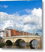 Dublin's Fairytales Around  River Liffey 2 Metal Print