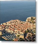 Dubrovnik And The Adriatic Coast In Croatia Metal Print