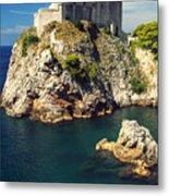Dubrovnik King's Landing Fortress Metal Print