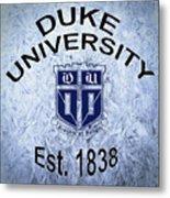 Duke University Est 1838 Metal Print