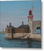 Dun Laoghaire Lighthouse Metal Print