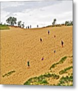 Dune Climb In Sleeping Bear Dunes National Lakeshore-michigan Metal Print