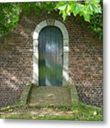 Dutch Door Digital Metal Print