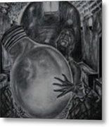 Dying Soul Metal Print by Kodjo Somana