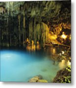 Dzitnup Natural Well Metal Print
