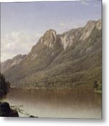 Eagle Cliff At Franconia Notch In New Hampshire Metal Print