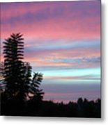 Early Evening Sky Metal Print