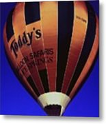 Early Morning Balloon Ride Metal Print