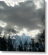 Early Winter Warning Metal Print