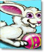 Easter Bunny Metal Print