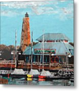 Eb And Flo's Steamhouse Metal Print