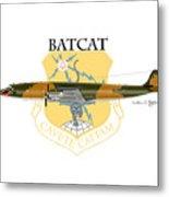 Ec-121r Batcat 6721498 Metal Print