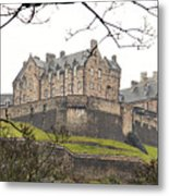 Edinburgh Castle Metal Print
