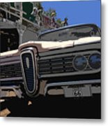 Edsel On Route 66 Metal Print