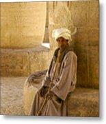 Egyptian Caretaker Metal Print