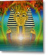 Egyptian Wisdom Metal Print