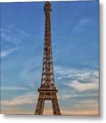 Eiffel Tower In France Metal Print